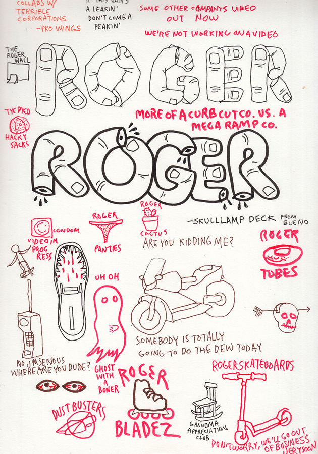MICHAEL SIEBEN ON RELAUNCHING ROGER SKATEBOARDS - Jenkem