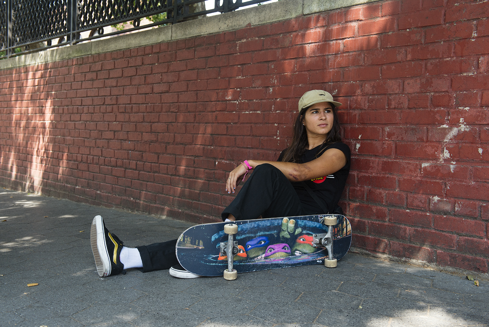"""Referring to someone as a """"true street skater"""" is a cliché we normally try  to avoid at all costs. But in the case of Fabiana Delfino c681369a62f"""