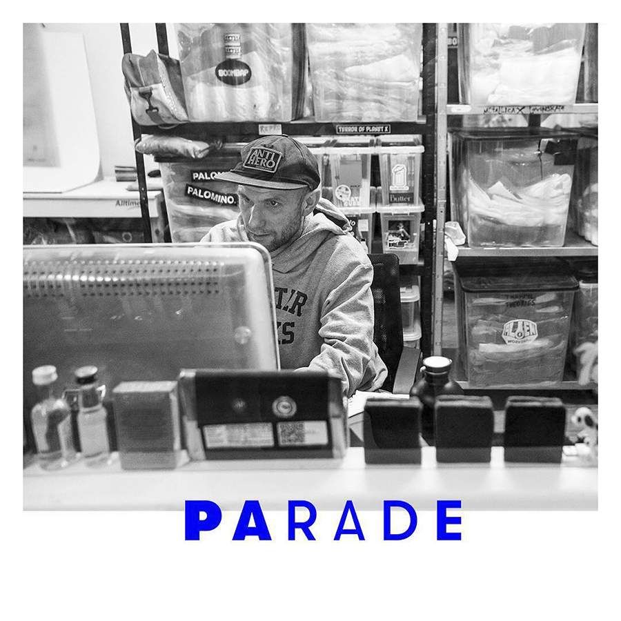 PARADE WORLD IS RETHINKING THE WAY YOU BUY SKATE GOODS