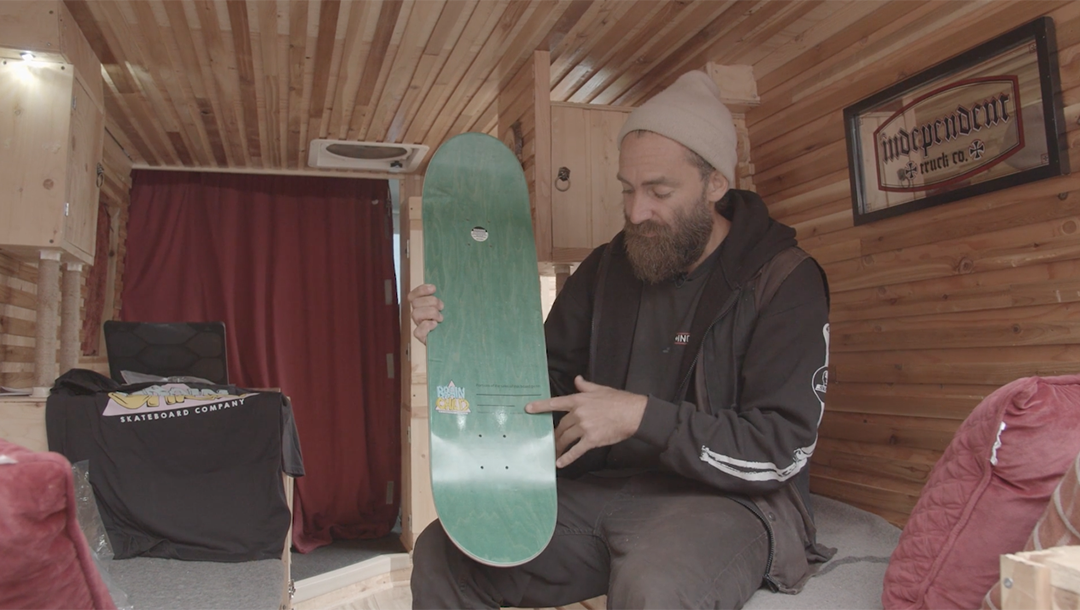 CHRIS HASLAM LAUNCHED A NEW BOARD BRAND FOR CHARITY - Jenkem Magazine